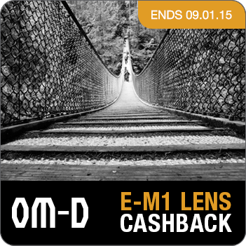 OM-D Lens Cashback